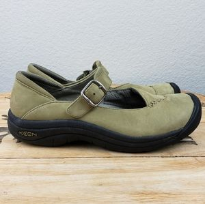 Keen VERONA Mary Janes light olive